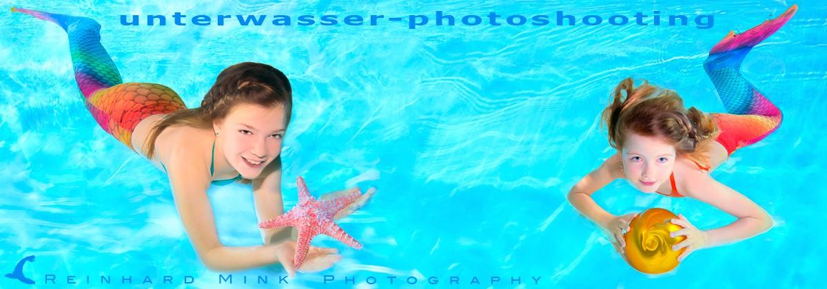 Unterwasser-Photoshooting